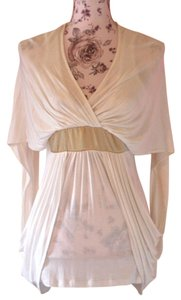 Love Culture Kimono Top White/Ivory/Gold