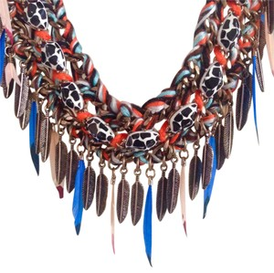 Zara Tribal Statement Necklace