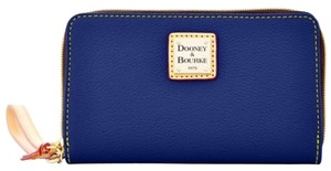 Dooney & Bourke Wristlet in Dark Blue
