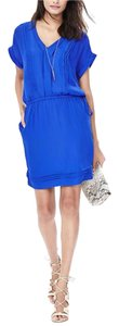 Banana Republic short dress Riviera & Frida Blue on Tradesy