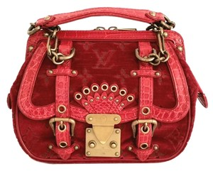 Louis Vuitton Limited Edition Gracie Alligator Monogram Shoulder Bag