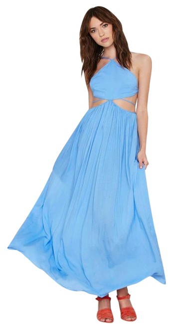 on sale The Jetset Diaries Blue Carnivale Maxi Dress - 48% Off Retail