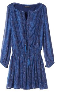 Bansna republic short dress Blue Dusk on Tradesy