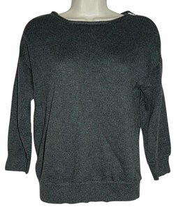 Gap 3/4 Sleeves Exposed Zipper New With Tag Size Large Sweater