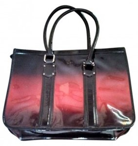 Vera Wang Ombre Simply Tote in Black/Red