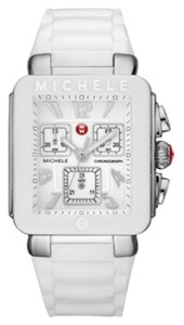 Michele Michele Jelly Bean Park Women's Silver White Watch MWW06L000001