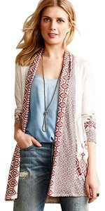 Anthropologie Cozy One September Print Cardigan