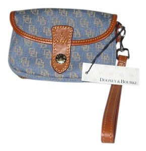 Dooney & Bourke Front Flap Wristlet in Blue
