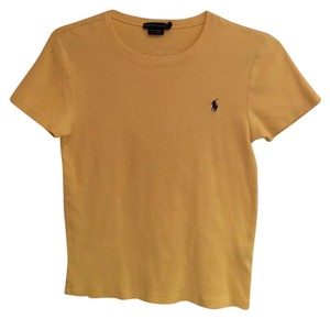 Ralph Lauren Blue Label T Shirt Yellow