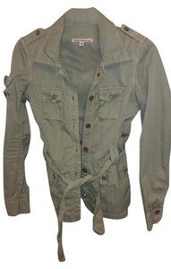 AG Adriano Goldschmied Belted Military Jacket