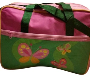 Other Set Bottle Butterfly Pink Diaper Bag