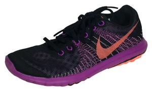 Nike Flex Fury Running Black/Fuchsia Glow/Vivid Purple/Hyper Orange Athletic