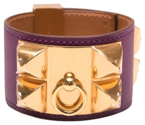 Hermès Hermes Anemone Swift Collier De Chien (CDC) Bracelet Small