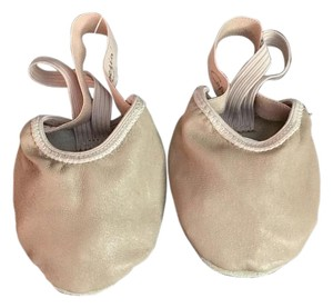 Capezio Leather Dance Shoe nude Athletic