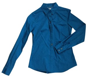 Banana Republic Button Down Shirt Electric blue