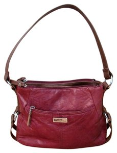 Stone Mountain Accessories Satchel Hobo Red Shoulder Bag