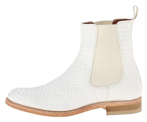 Penelope Chilvers Python Boot white Boots