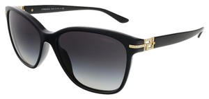 Versace Versace Black/Rose Gold Wayfarer Sunglasses