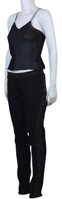 Item - Black Elastic Pants Size 12 (L, 32, 33)