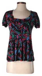 Marc by Marc Jacobs Silk Print Top