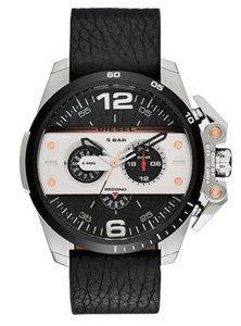 Diesel Diesel Men's Ironside Chronograph Leather Watch DZ4361
