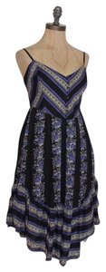 Free People short dress MULTI COLOR Romantic Flare Tea on Tradesy