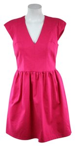 French Connection short dress A-line Pink Mini on Tradesy