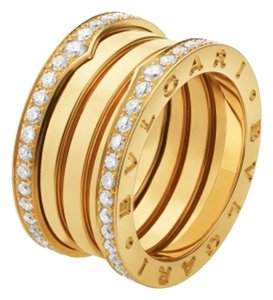 BVLGARI BVLGARI B.ZERO-1 18K YELLOW GOLD DIAMONDS RING AN857024