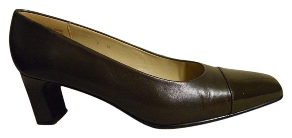 6cd3d2022d Etienne Aigner Brown Leather 9n Pumps Size US 9 Narrow (Aa, N) - Tradesy