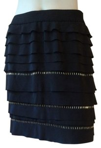 BCBGMAXAZRIA Mini Skirt Black