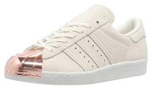 adidas Metallic Rose Gold Cap Toe Off White Athletic