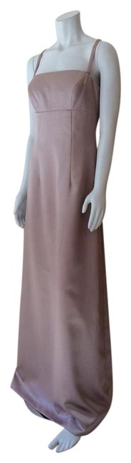 Item - Taupe Long Formal Dress Size 6 (S)