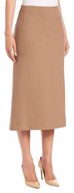 Item - Camel Anneal A-line Skirt Size 6 (S, 28)
