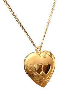 12k Gold Filled Necklace Locket