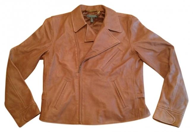 Preload https://img-static.tradesy.com/item/192424/lauren-ralph-lauren-leather-jacket-size-12-l-0-0-650-650.jpg