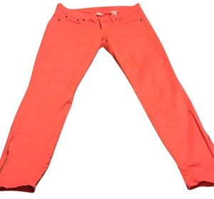 J.Crew Skinny Pants Bright orange