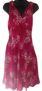 Ann Taylor Floral Silk Dress