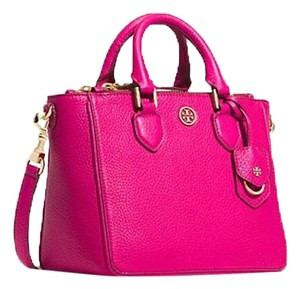 Tory Burch Tote in Carnation Red