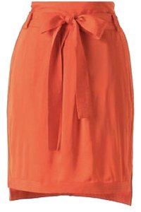 Leifsdottir Mini Skirt Orange, red