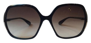 Marc by Marc Jacobs Metal accent round tortoise sunglasses