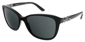 Versace Versace Black Rectangular Sunglasses