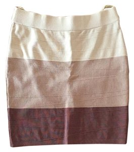 Arden B. Mini Skirt Brown
