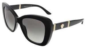 Versace Versace Black Cat Eye Square Sunglasses