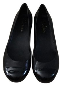 Cole Haan Nike Air Leather Flats Black Flats