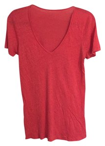 J.Crew T Shirt Red/fushia