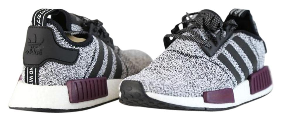 official photos 3f32d ec862 adidas White/Black Maroon Burgundy Nmd R1 J Limited Exclusive Rare Yeezy  Boost Youth Sneakers Size US 6.5 Regular (M, B)