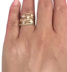 Kevia Wrap Ring Kevia 5 Handpounded Wrap Ring