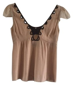 Vena Cava Top Tan and brown