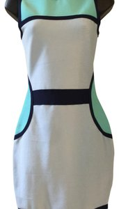 Other short dress Black/blue/aqua on Tradesy