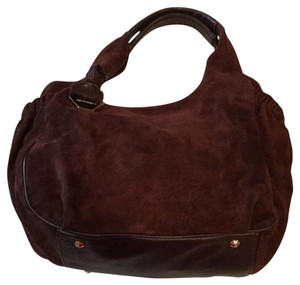 Bruno Magli Suede Hobo Bag